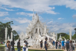 The majestic White Temple